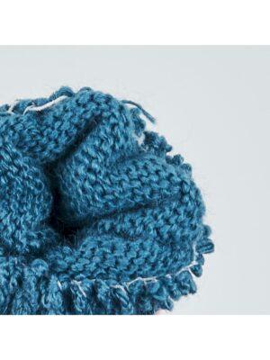Перчатки Margot Bis Синие, Оранжевые