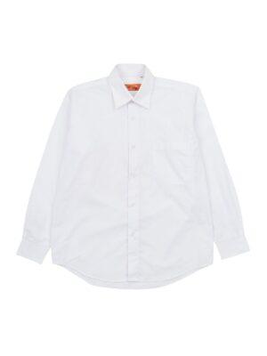Рубашка для мальчика белая GULLIVER