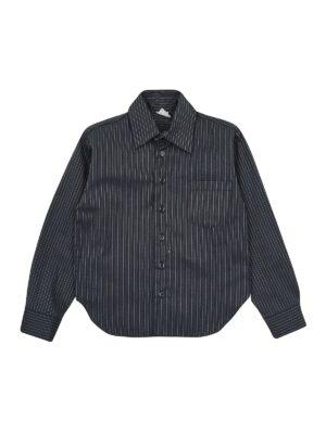 Рубашка для мальчика темно серая Pacco Демисезон