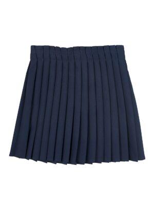 Юбка EWALINE для девочки плисе синяя