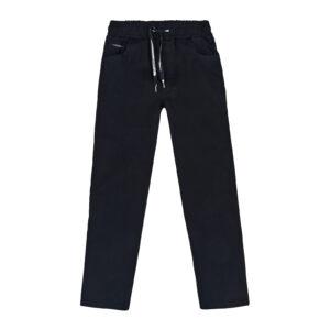 Штани для хлопчика чорні шкільні на гумці Арт.0915 Cegisa