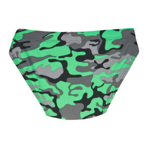 Плавки купальні для хлопчика зелені з сірим 631-2 Same game