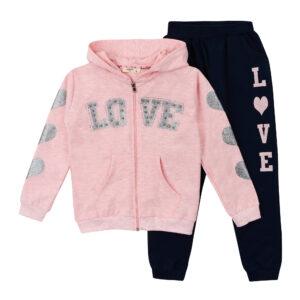 Спортивний костюм для дівчинки ніжно рожевий Арт. 13027 Breeze