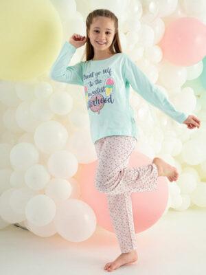 Пижама для девочки длинный рукав трикотажная Kazan Bebe Арт. 223