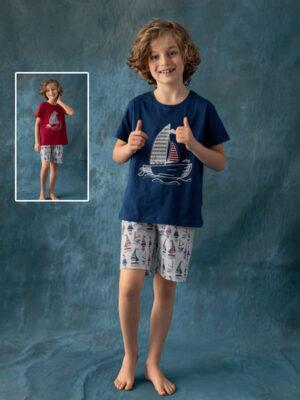 Пижама для мальчика летняя Арт.906 Kazan bebe
