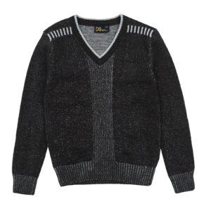 Свитер для мальчика темно серый меланжовый 5168-1 Deloras