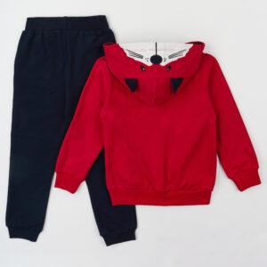 Спортивный костюм красно синий Арт. 0300 HOITY -TOITY