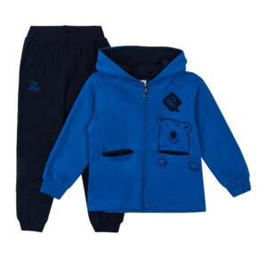 Костюмчик для хлопчика синьо чорний Арт. 0309-1 HOITY -TOITY