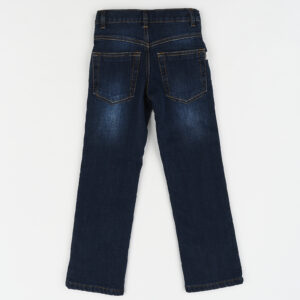 Джинсы для мальчика синий джинс на флисе 512 TJ (Tango Jeans) Демисезон