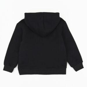 Худі для дівчинки теплий чорний З капюшоном Арт. 0065 B & amp; Q