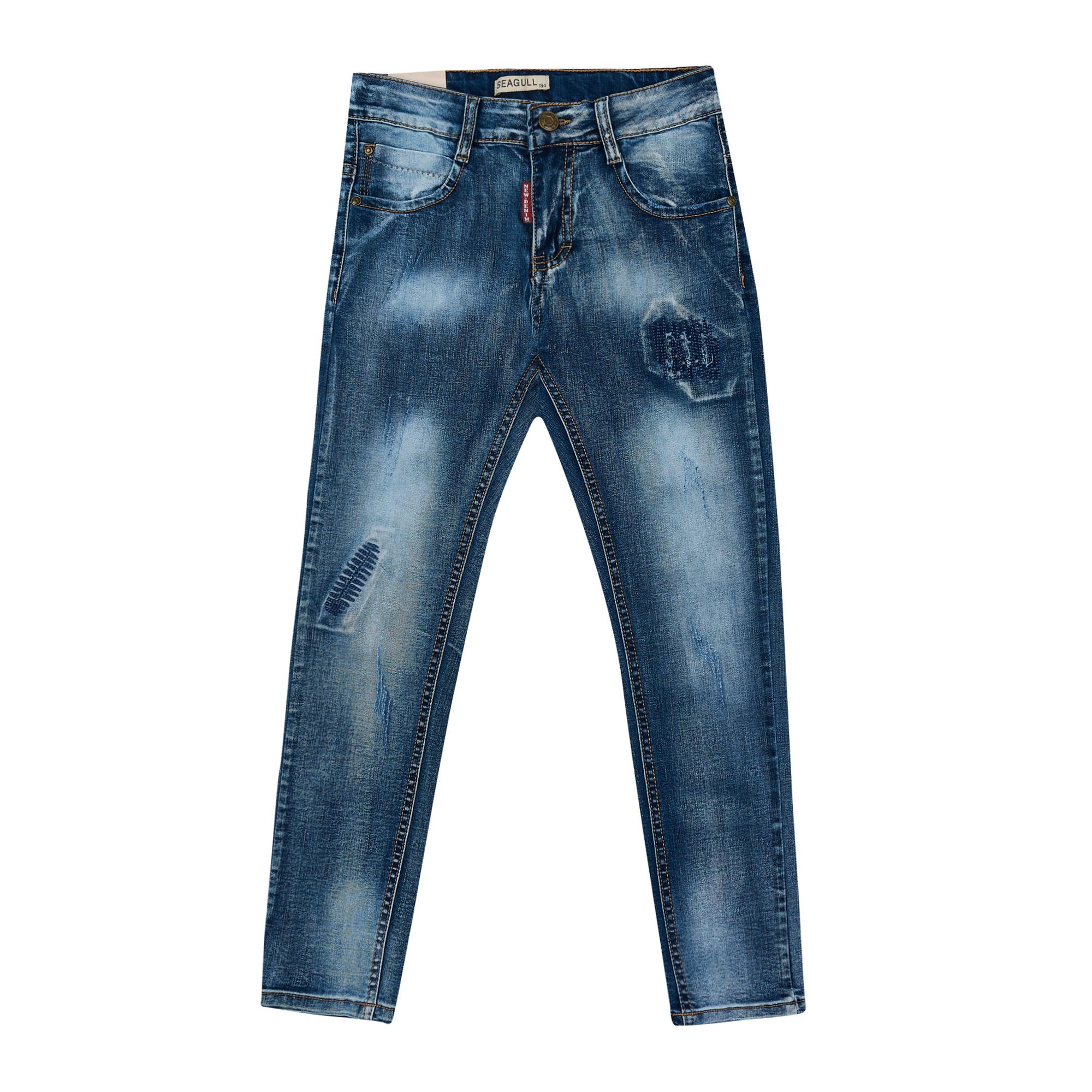 Штани для хлопчика джинсові Арт. 68001 Seagull