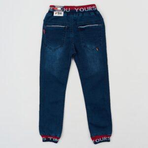 Штаны для мальчика на резинке джинсовые Арт. 58022 Grace