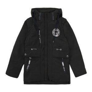 Куртка демі для хлопчика колір хакі Арт.8807-1 Mazhuang