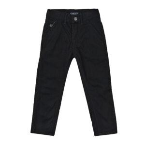 Брюки для мальчика теплые черные под вильвет на флисе Арт. 85920 Grace